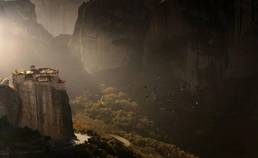 Most Beautiful Churches in Europe - Meteora Monasteries