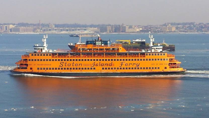 Must-see Places in New York - Staten Island Ferry Boat Ride