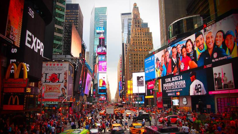 Must-see Places in New York -  Times Square