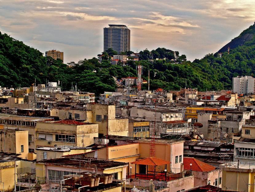 South America - Rio de Janeiro favelas
