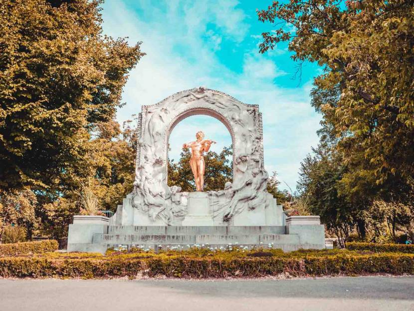 Best Historic Things to Do in Vienna - Monument to the Waltz King
