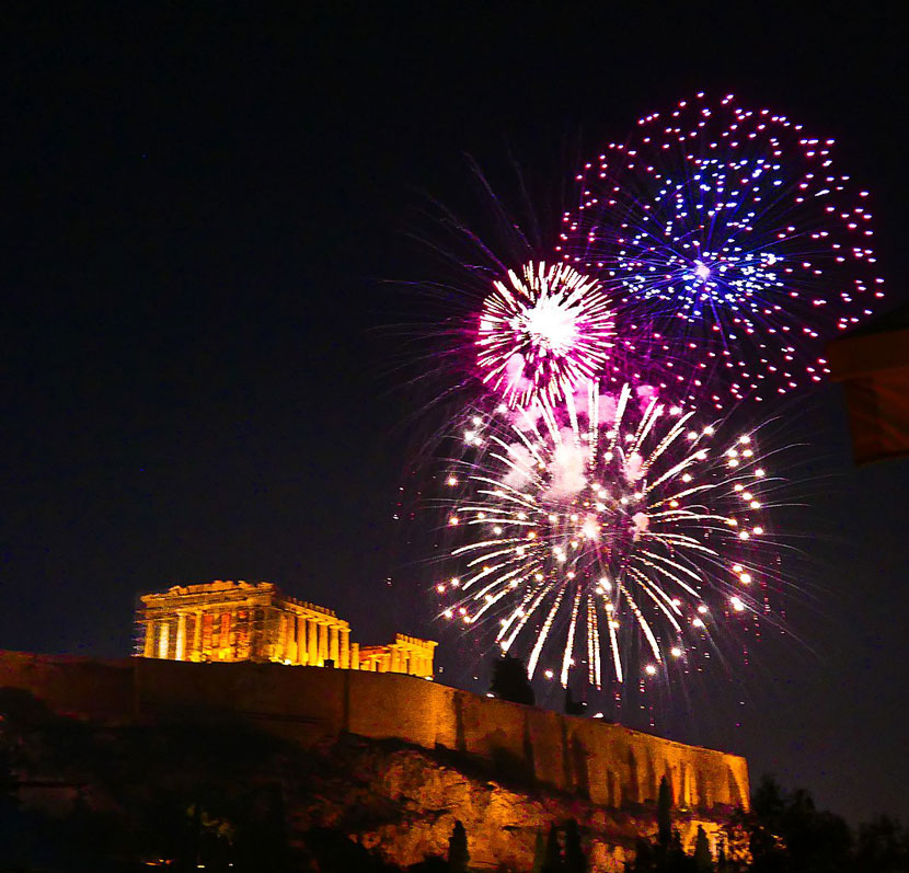 7 Best Cities to Celebrate New Year's Eve 2020 Athens