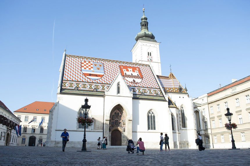 Things to Do in Zagreb - St. Mark's Church