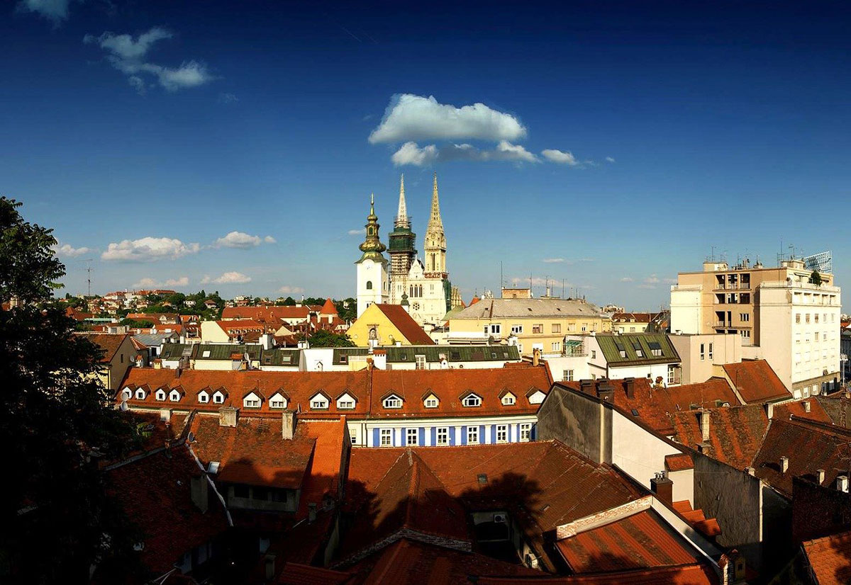 Things to Do in Zagreb - The Upper Town Views
