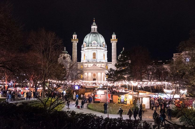 Best Things to Do in Vienna This Christmas: Weihnachtsmarkt Karlsplatz