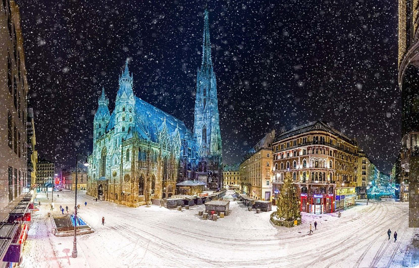 Best Things to Do in Vienna This Christmas: Christmas Market at Stephansplatz