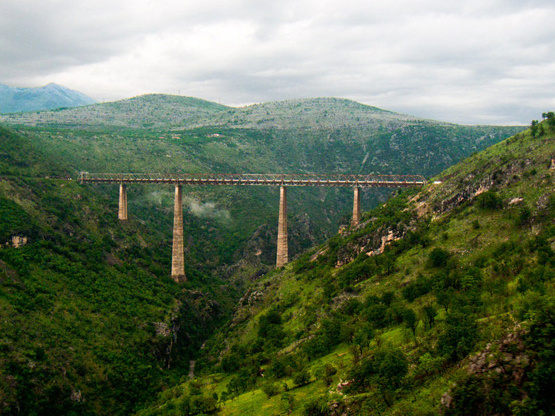 5 Most Beautiful Train Rides in Europe Belgrade Bar Railway