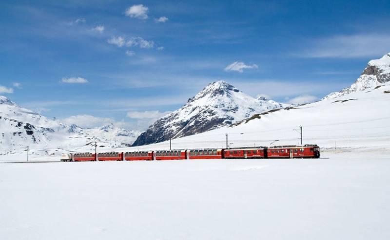 5 Most Beautiful Train Rides in Europe Bernina Pass