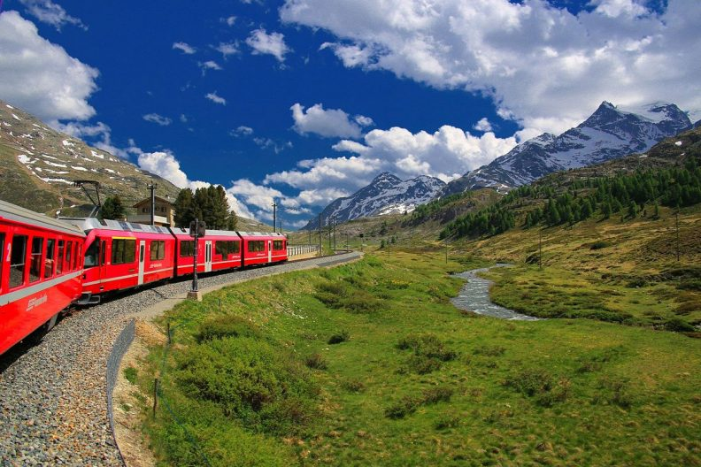 5 Most Beautiful Train Rides in Europe Glacier Express