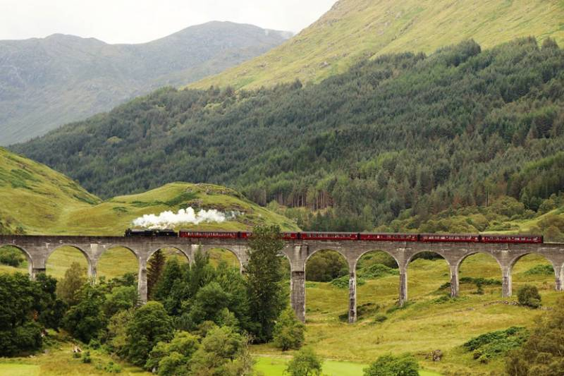 5 Most Beautiful Train Rides in Europe West Highland Line