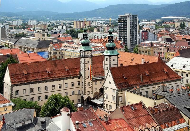 Cities in Austria: Klagenfurt