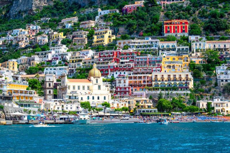 Best European Road Trips Amalfi Coast Positano