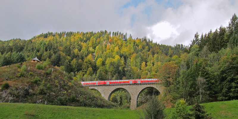 Most Beautiful Train Rides in Europe - Black Forest Railway
