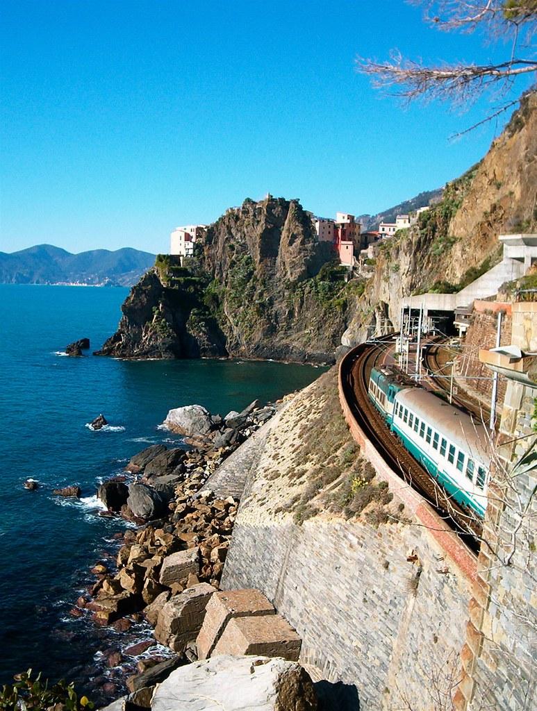 Most Beautiful Train Rides in Europe - Cinque Terre Railway
