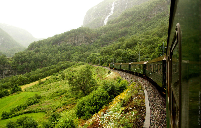 Most Beautiful Train Rides in Europe - The Flam Railway