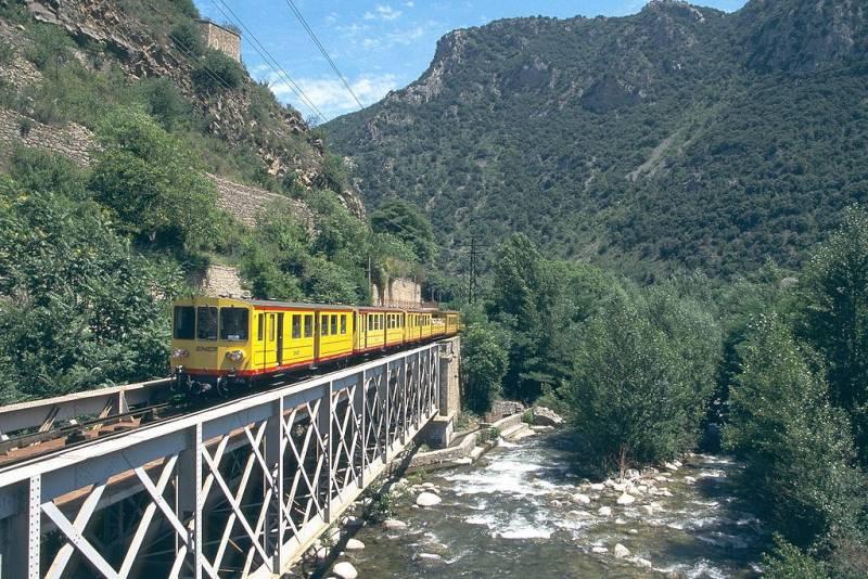 Most Beautiful Train Rides in Europe - Le Train Jaune