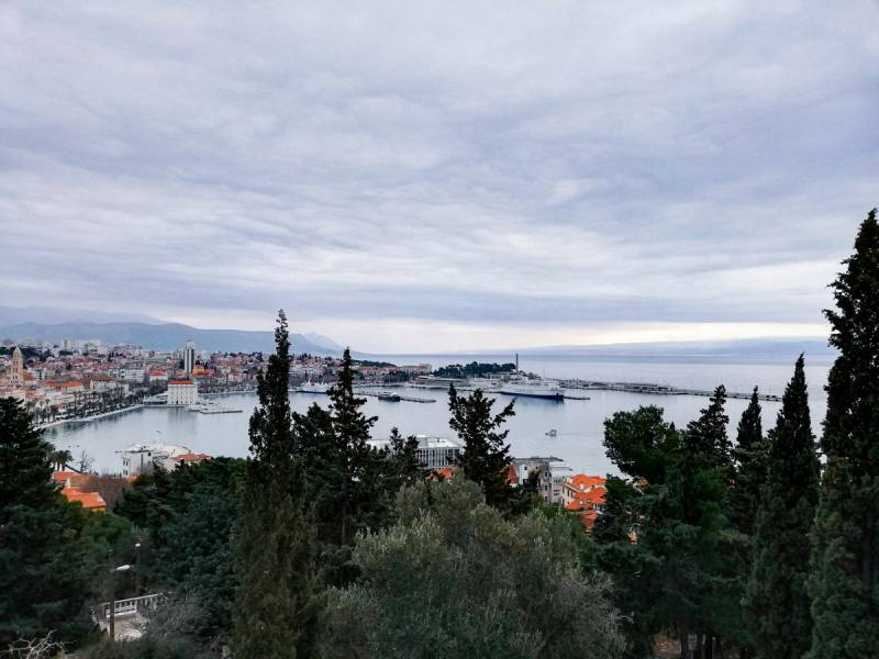 What to Do in Split for a Day - THe VIew from Marjan Hill