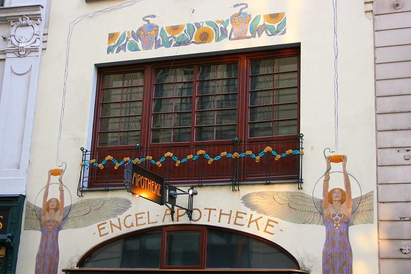 Art Nouveau Architecture in Vienna: Engel Apotheke