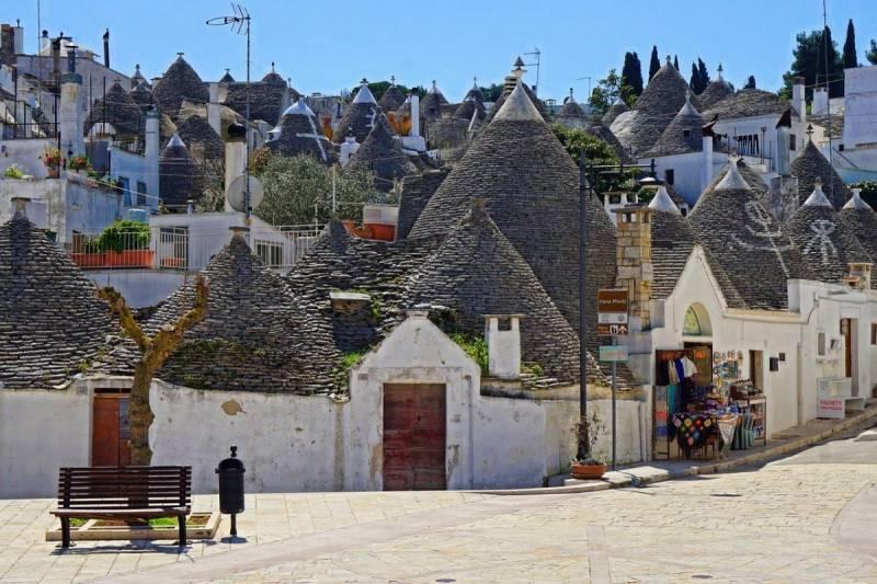 Places in Europe - Alberobello, Italy