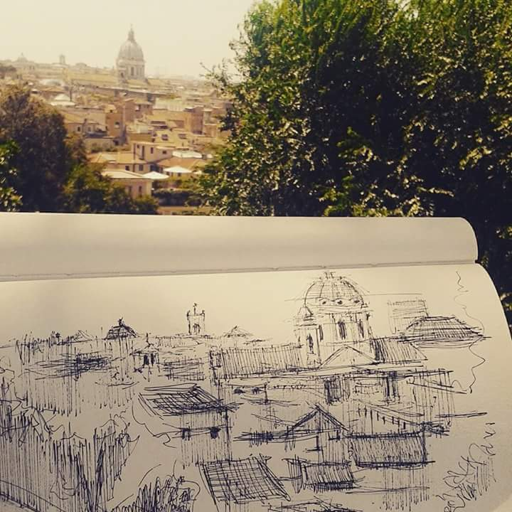 Discover Rome through art: Earlier project