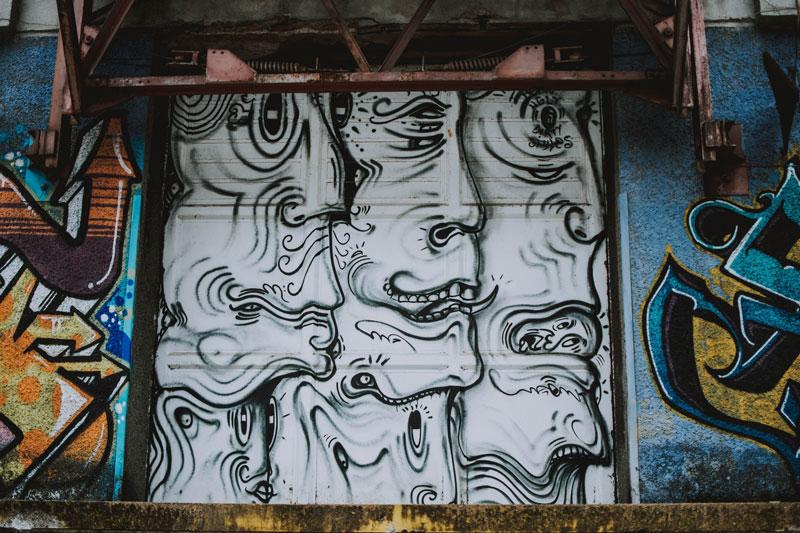 Explore Linz: Mural Harbor