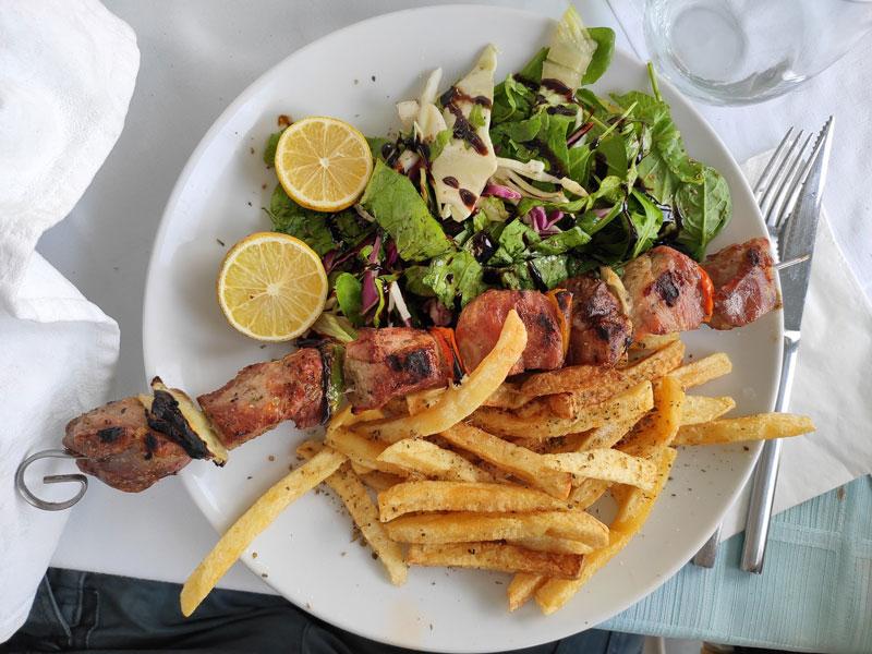 Reasons to visit Athens - souvlaki