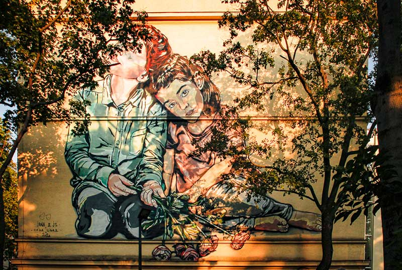 Learn About Vienna's Art & Culture, mural
