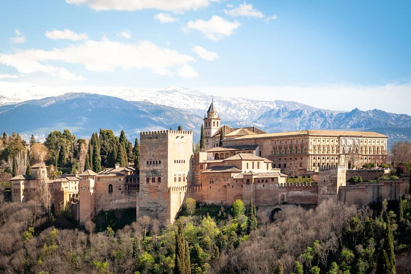 Most beautiful palaces in the world: Alhambra