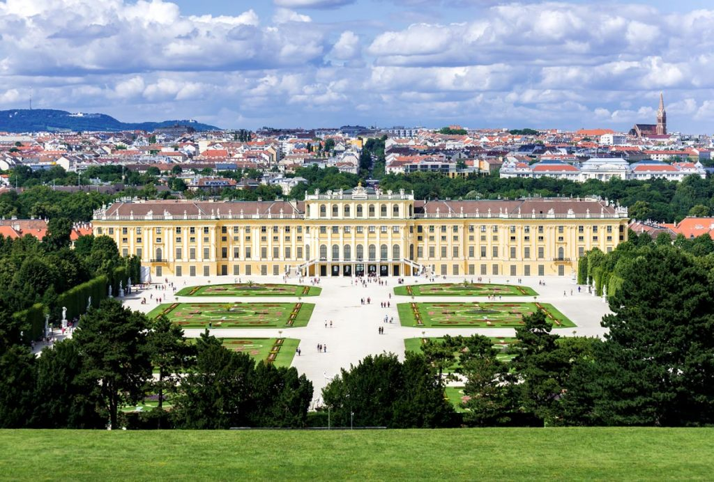 Most beautiful palaces in Europe: The Schönbrunn Palace