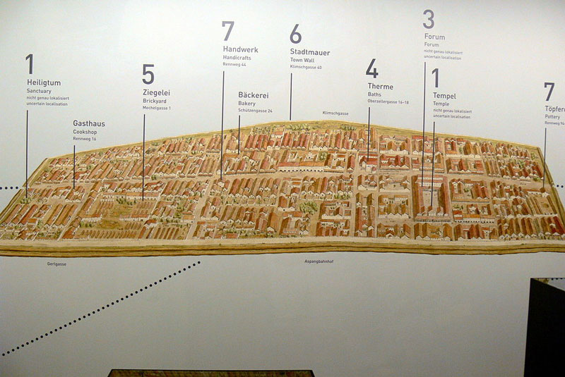 Ultimate Guide to Vienna: Reconstruction of Vindobona