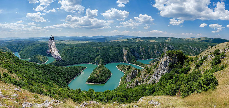 Reasons to Explore Serbia: Meandering Uvac river