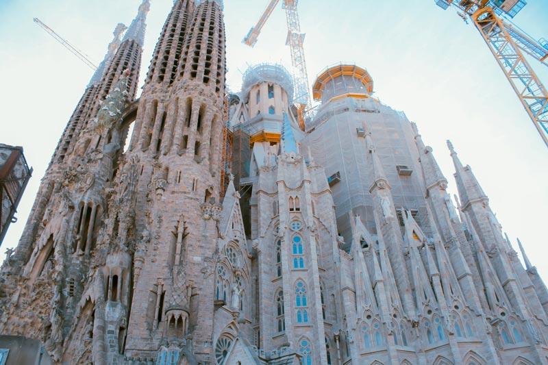 La Sagrada Familia — Gaudí's masterpiece, still under construction