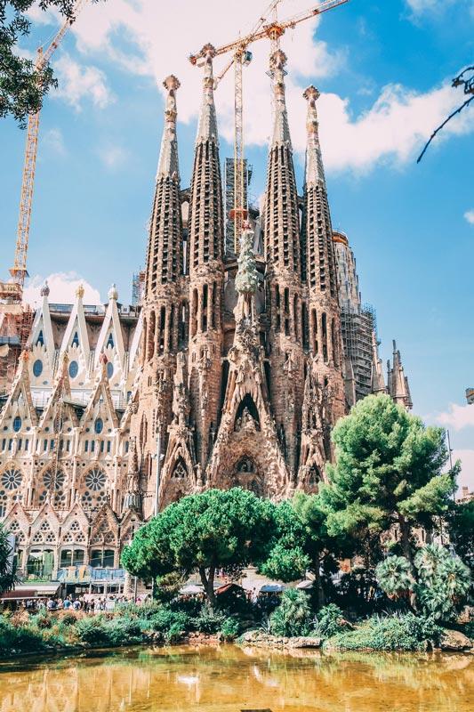 La Sagrada Familia will be the tallest religious building in Europe