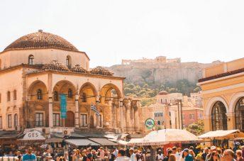 Hectic Monastiraki Square