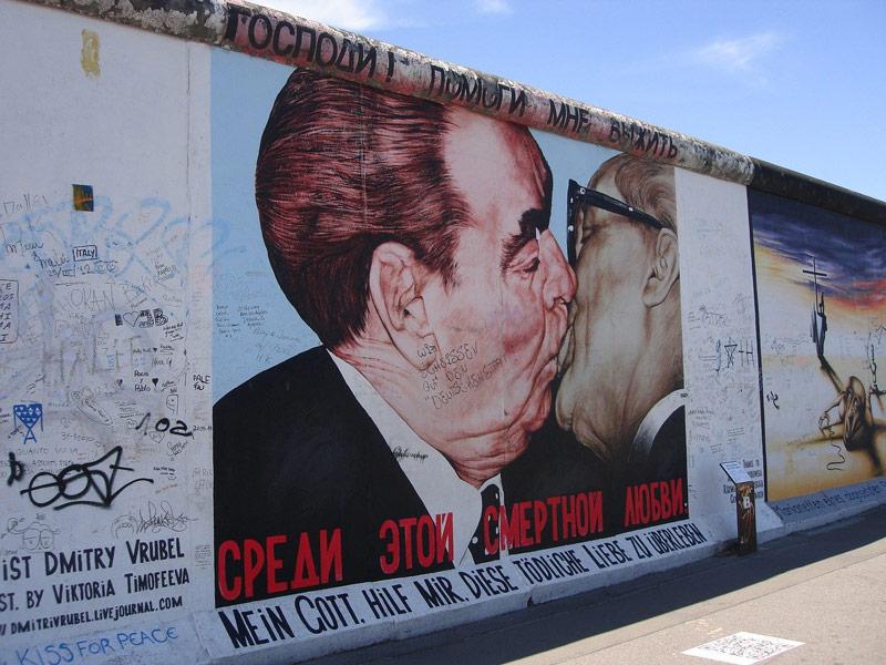 Street Art in Europe: Berlin - East Side Gallery