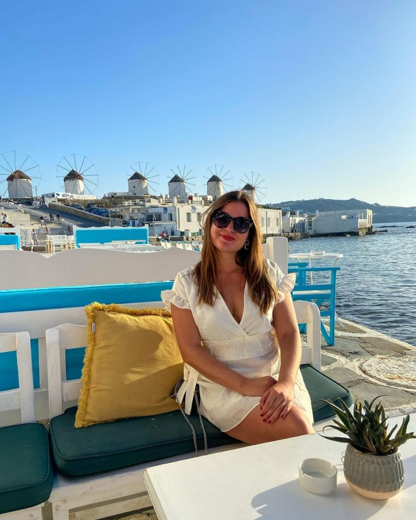 Diana was lucky enough to be able to visit Mykonos, Greece, in September 2020.