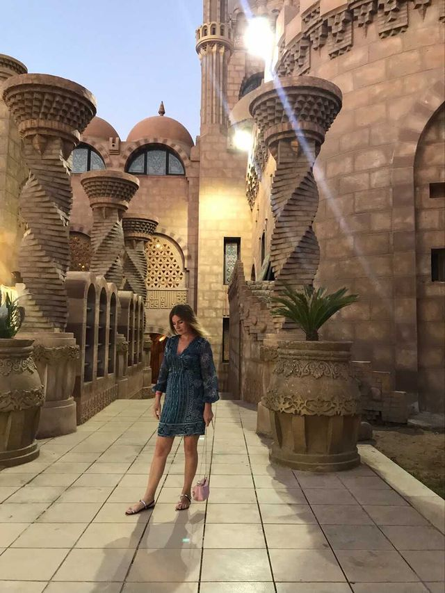 Travel savvy Elly was so happy that she was able to visit Egypt in July 2020.