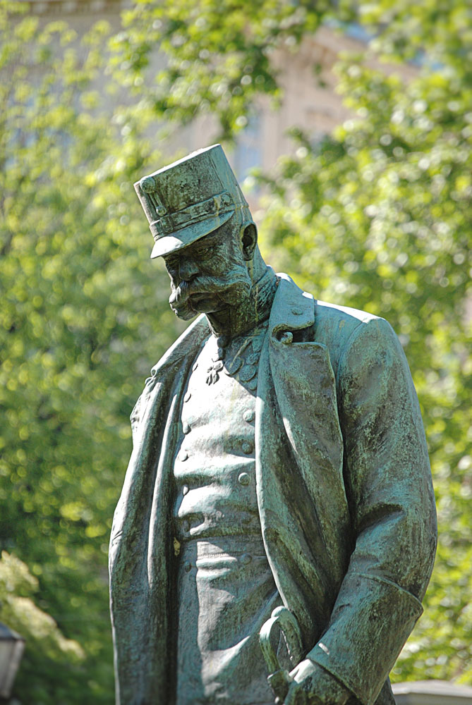 Frankfurter fan from the start: Emperor Franz Joseph
