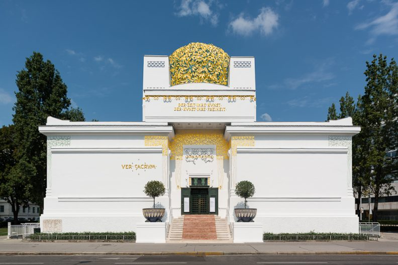 Building of the Vienna Secession, a photo by Jorit Aust