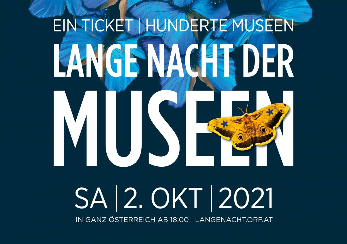 poster of this year's long night of museums in Austria